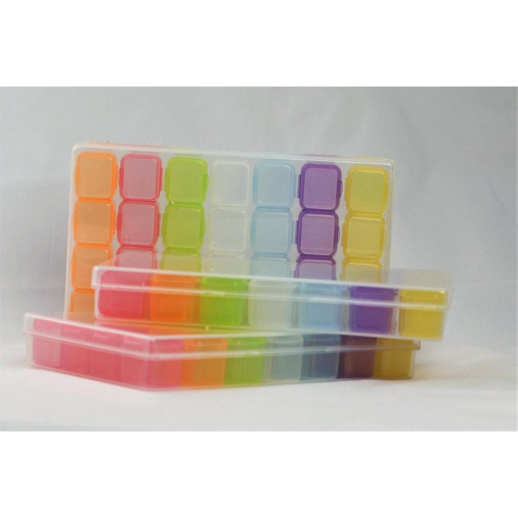 Luxury Kőtartó Box - Rainbow