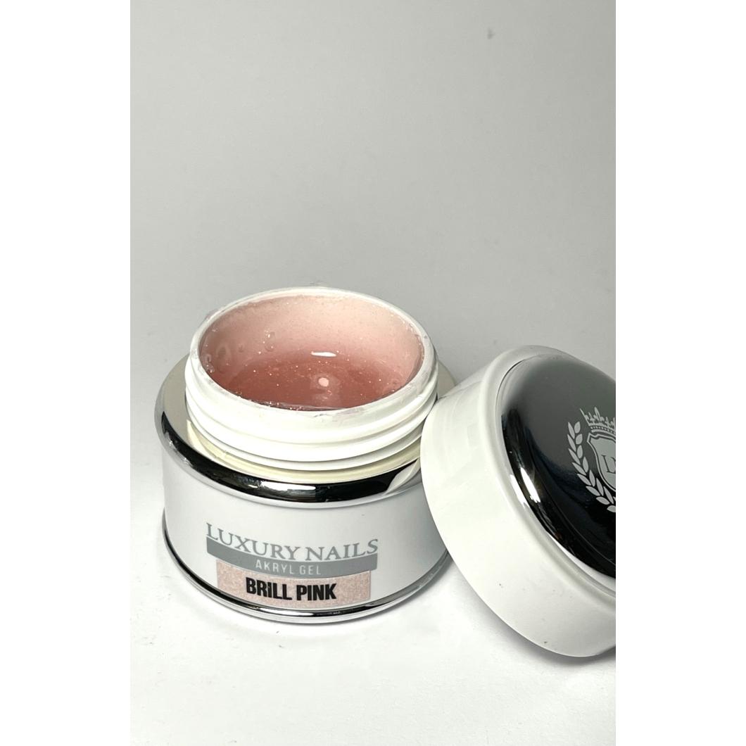 Akryl Gél tégelyes - 06 Brill Pink 45gr