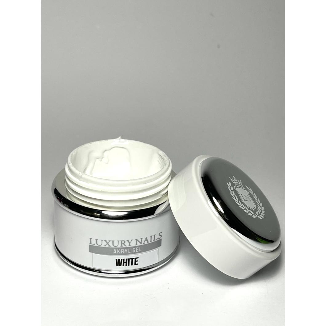 Akryl Gél tégelyes - 02 Extrem White 45gr