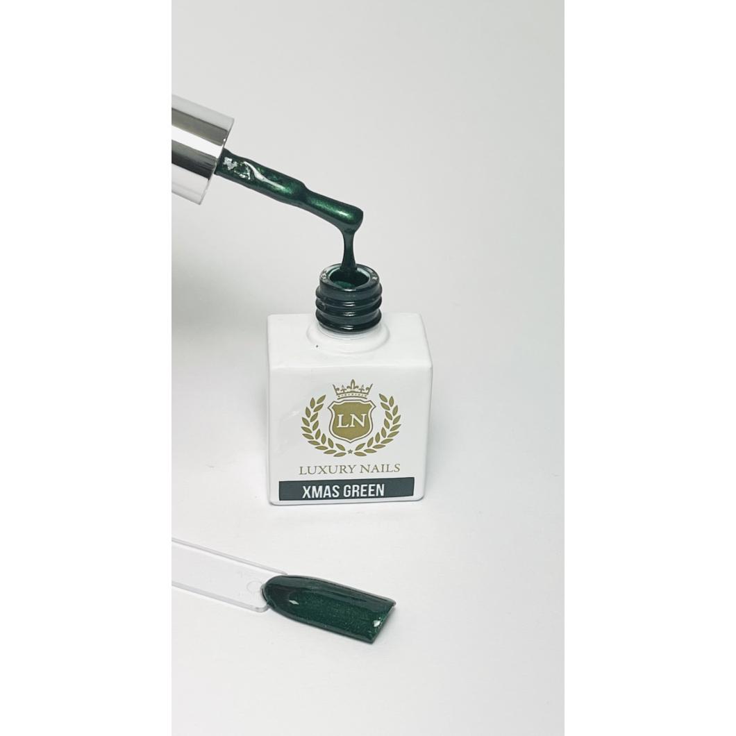 Luxury Bling Gél Lakk B18 - Xmas Green 8ml