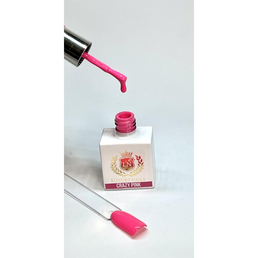 Luxury Gél Lakk 63 - Crazy Pink 8ml