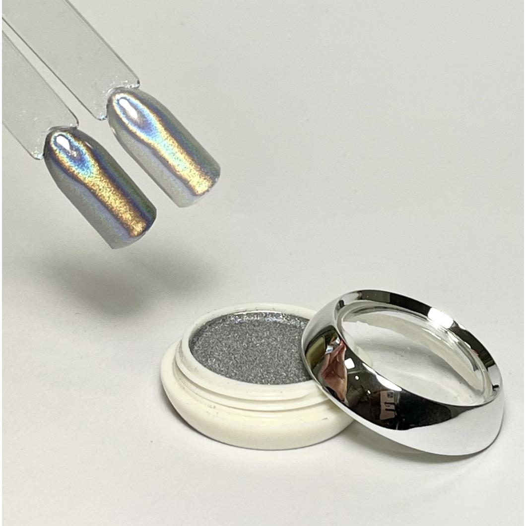 Holo effect por - Silver