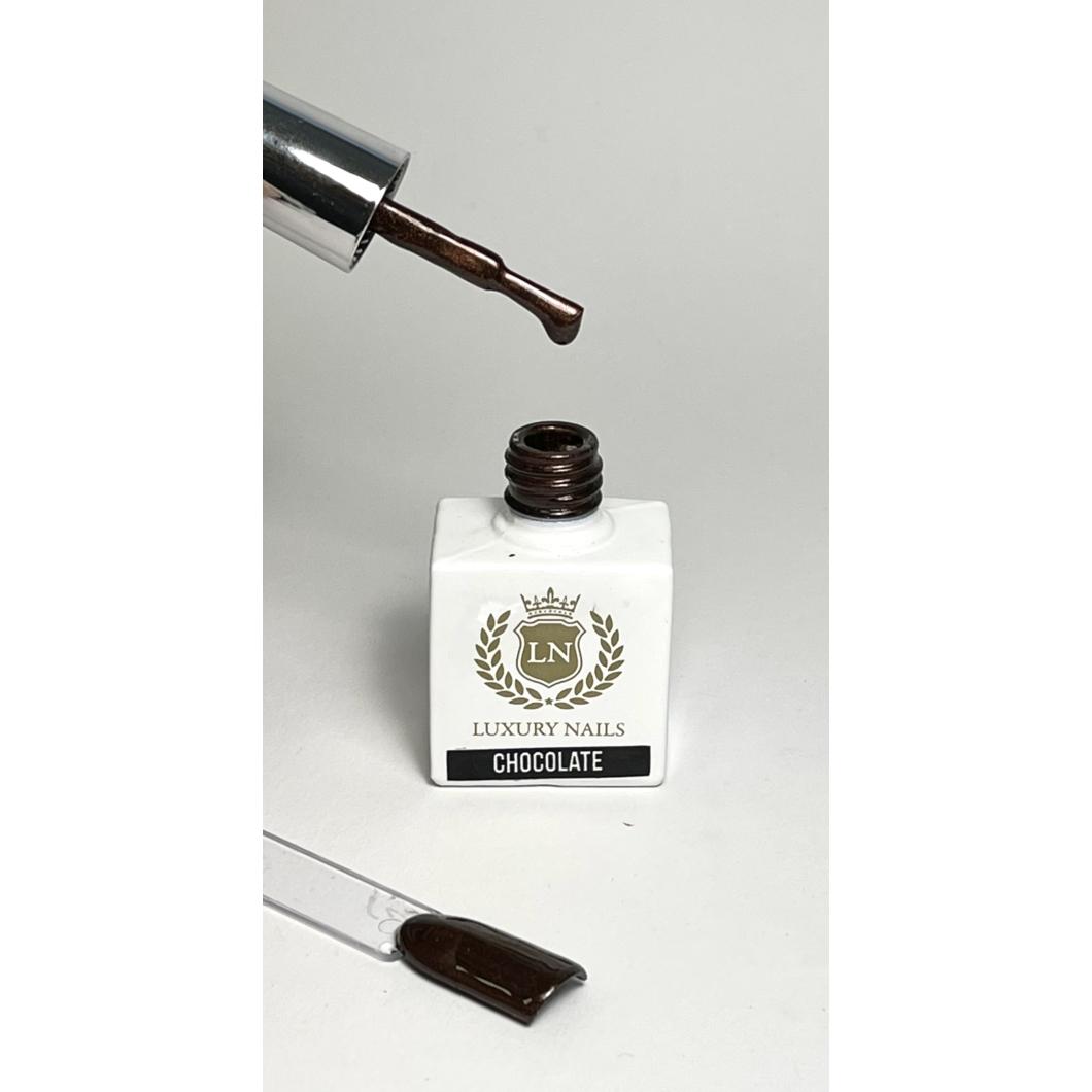 Luxury Bling Gél Lakk B12 - Chocolate 8ml