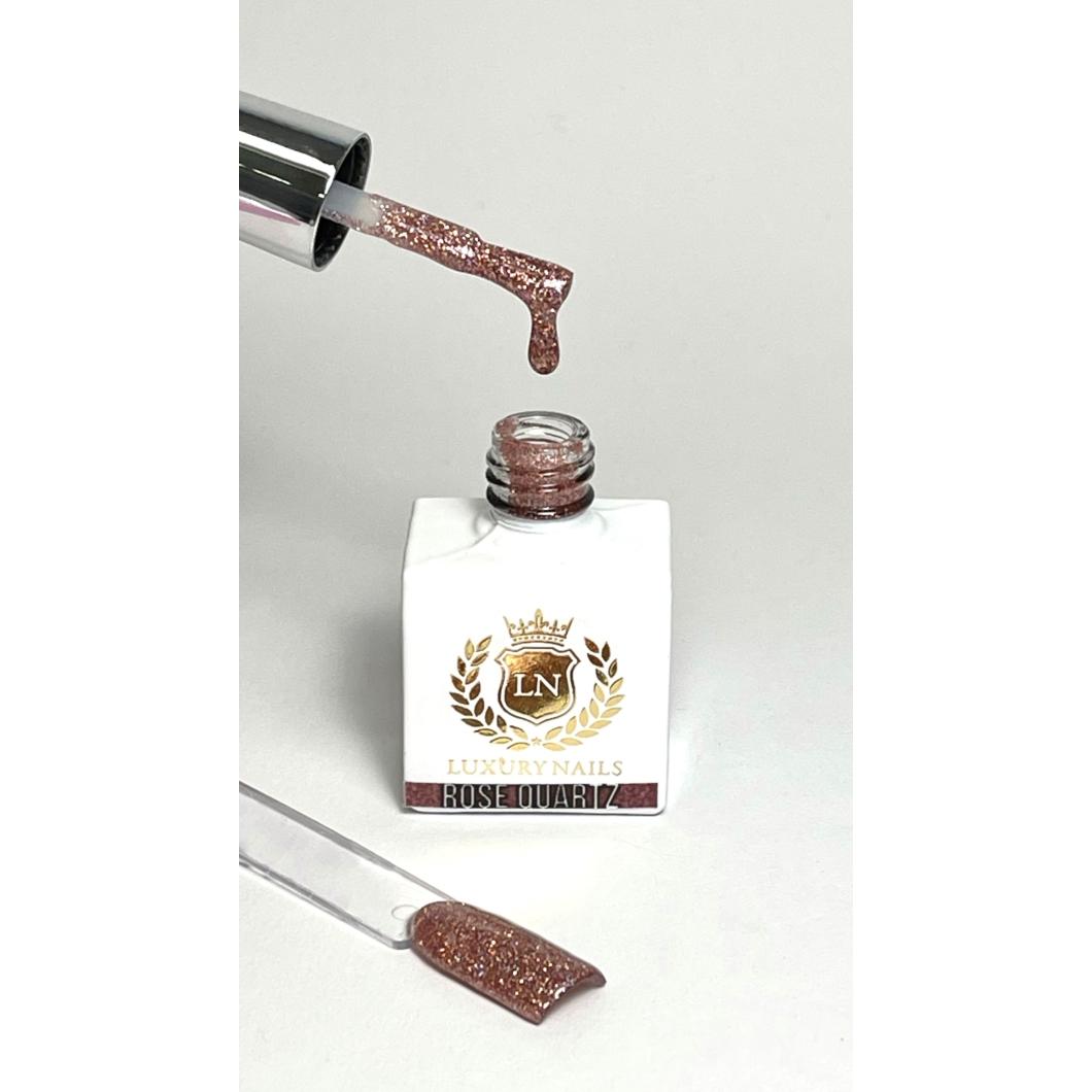 Luxury Bling Gél Lakk B10 - Rose Quartz 8ml