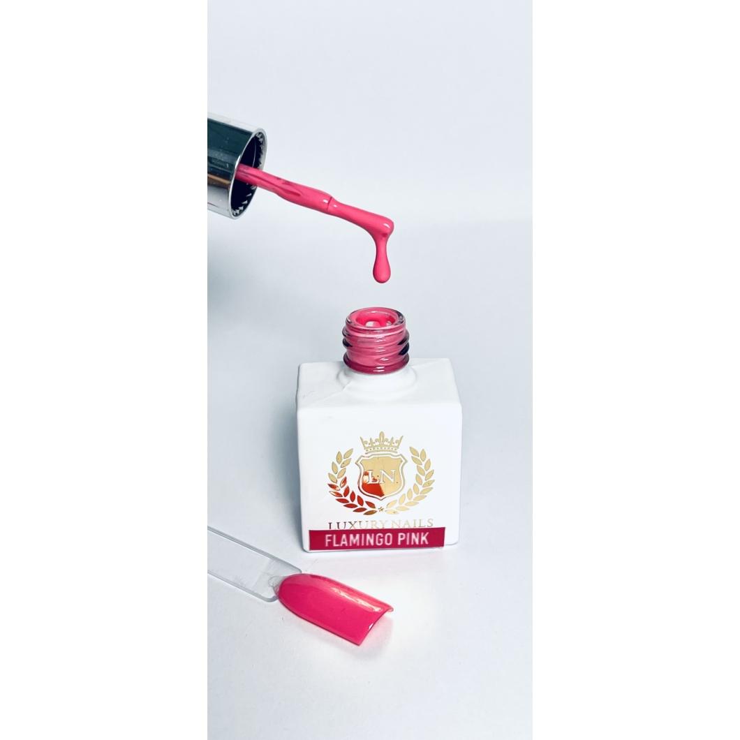 Luxury Gél Lakk 12 - Flamingo Pink 8ml