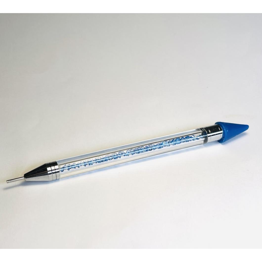 Kőfelszedő  szilikonos ceruza - Kék