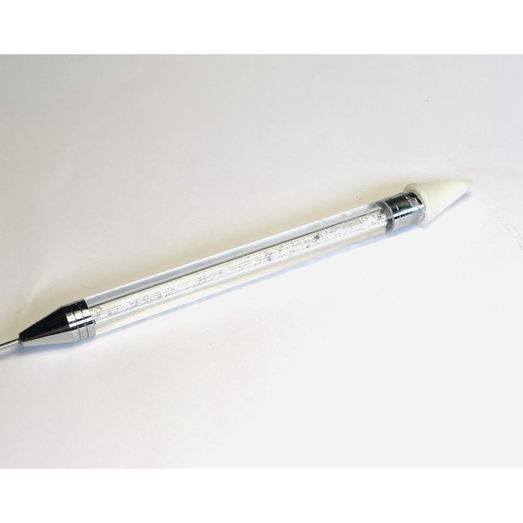 Kőfelszedő  szilikonos ceruza - Fehér