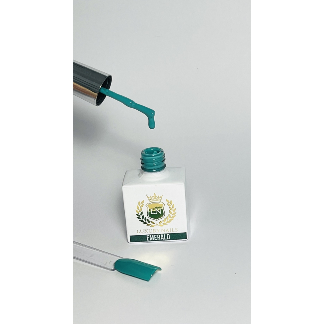 Luxury Gél Lakk 80  - Emerald 8ml