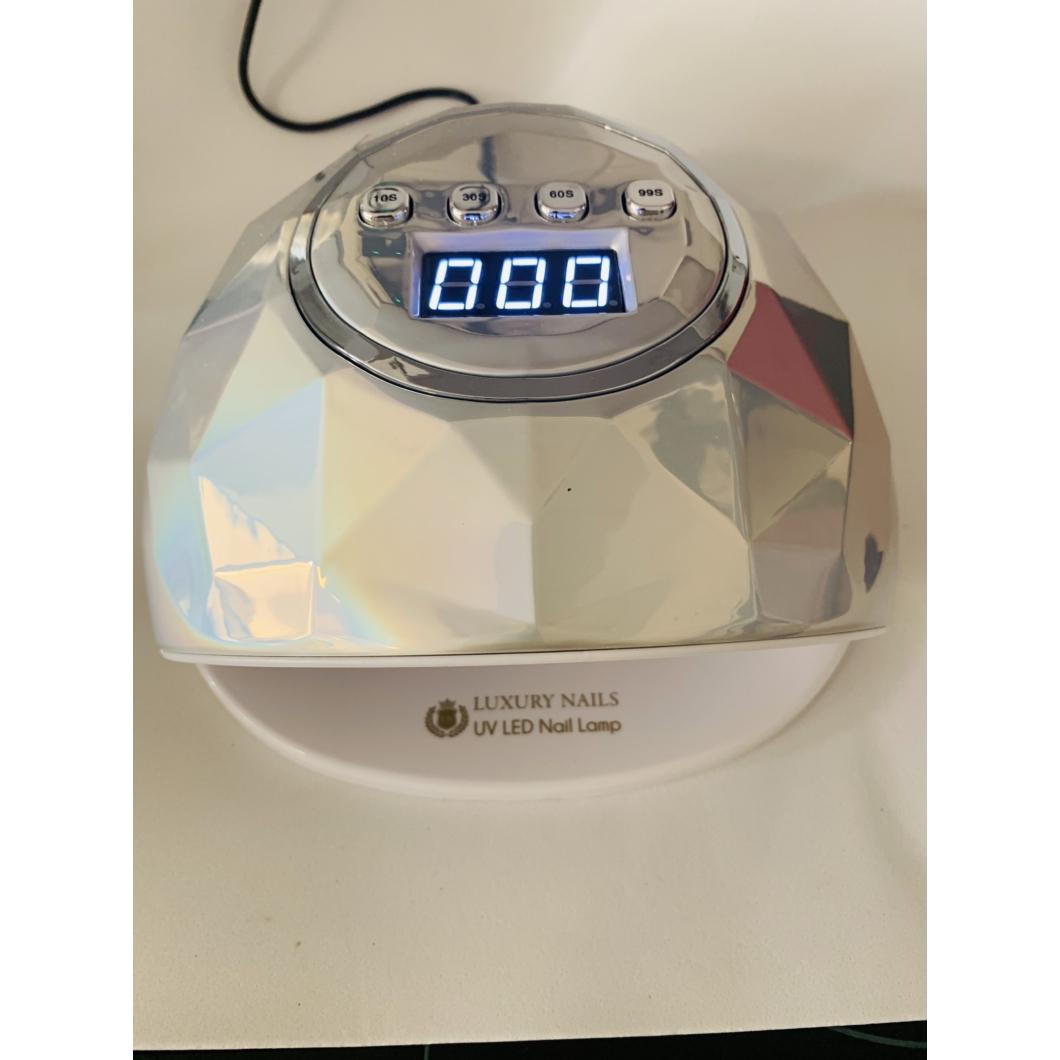 Luxury Smart UV/LED Lámpa 86 Watt - Silver