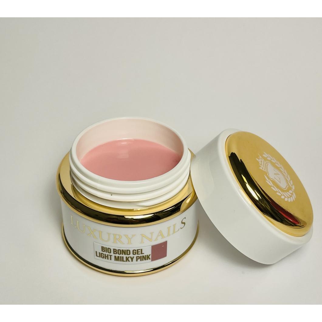 Bio Bond Gél tégelyes  - Light Milky Pink 50ml