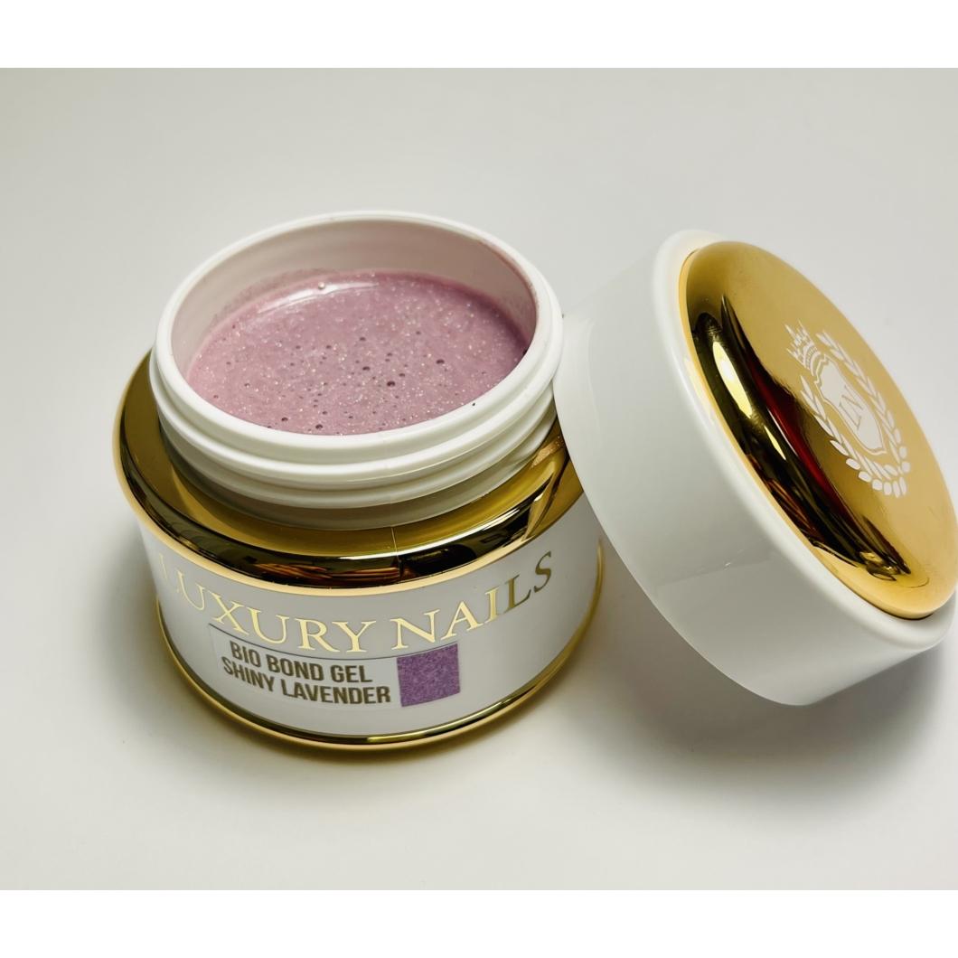 Bio Bond Gél tégelyes - Shiny Lavender 50 ml