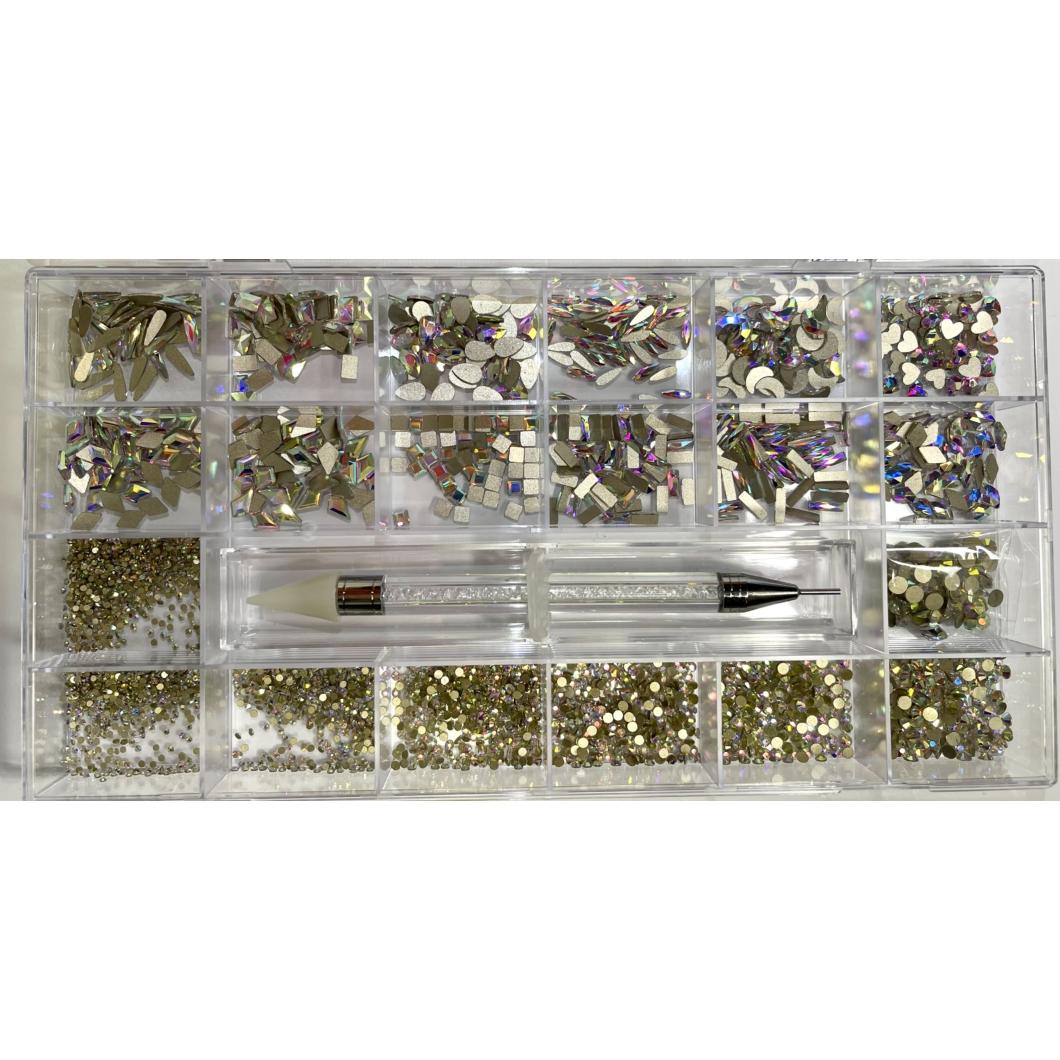 Luxury Strassz Box - Exclusive Crystal AB