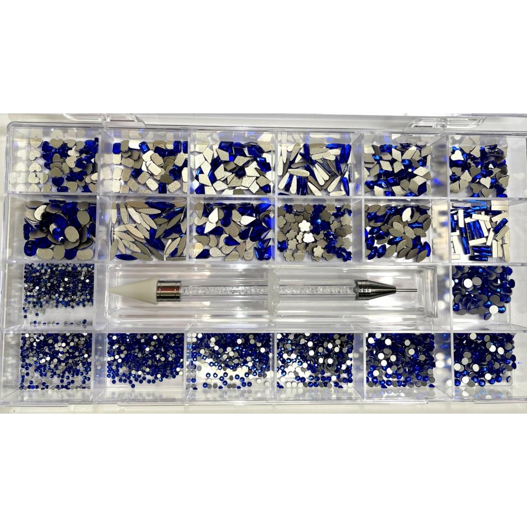 Luxury Strassz Box - Exclusive Blue