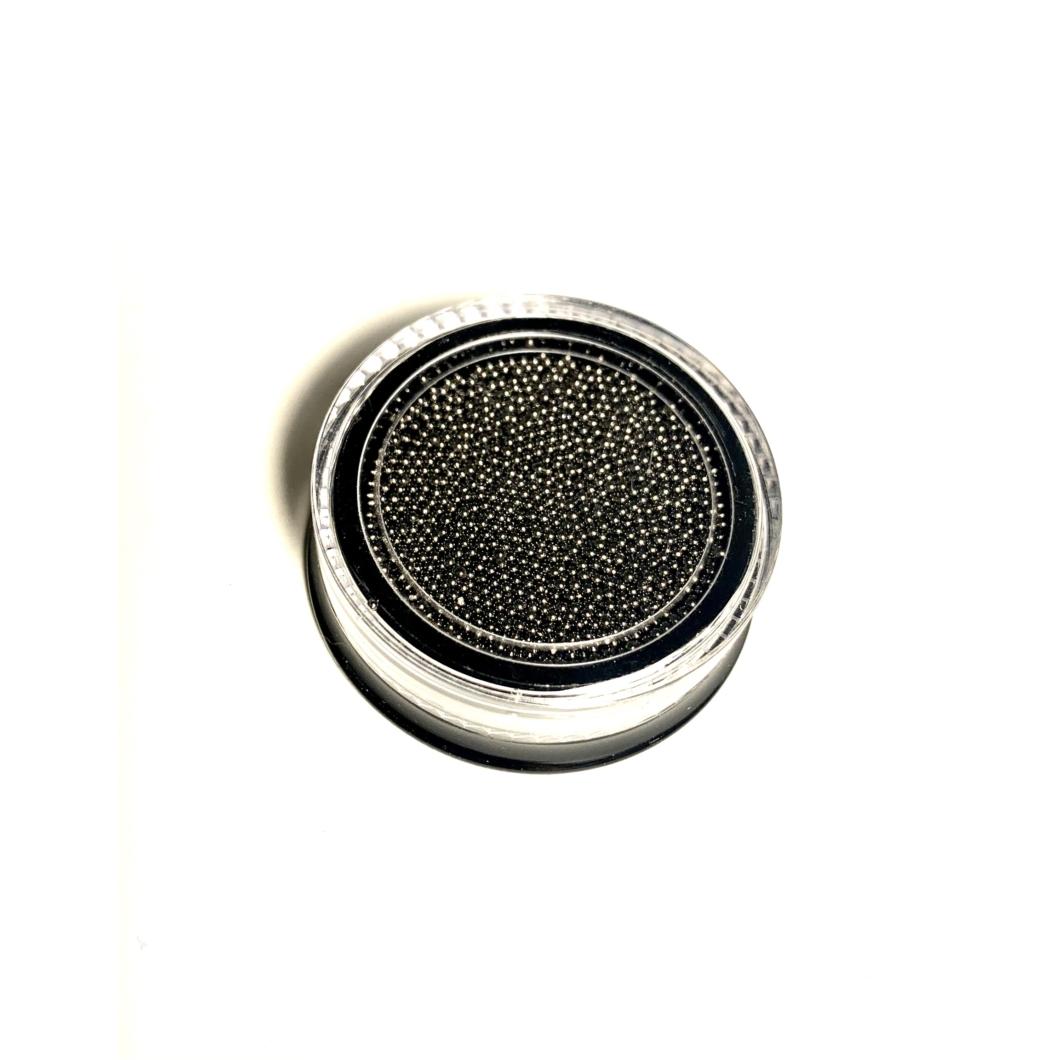 Luxury szórógyöngy - fekete