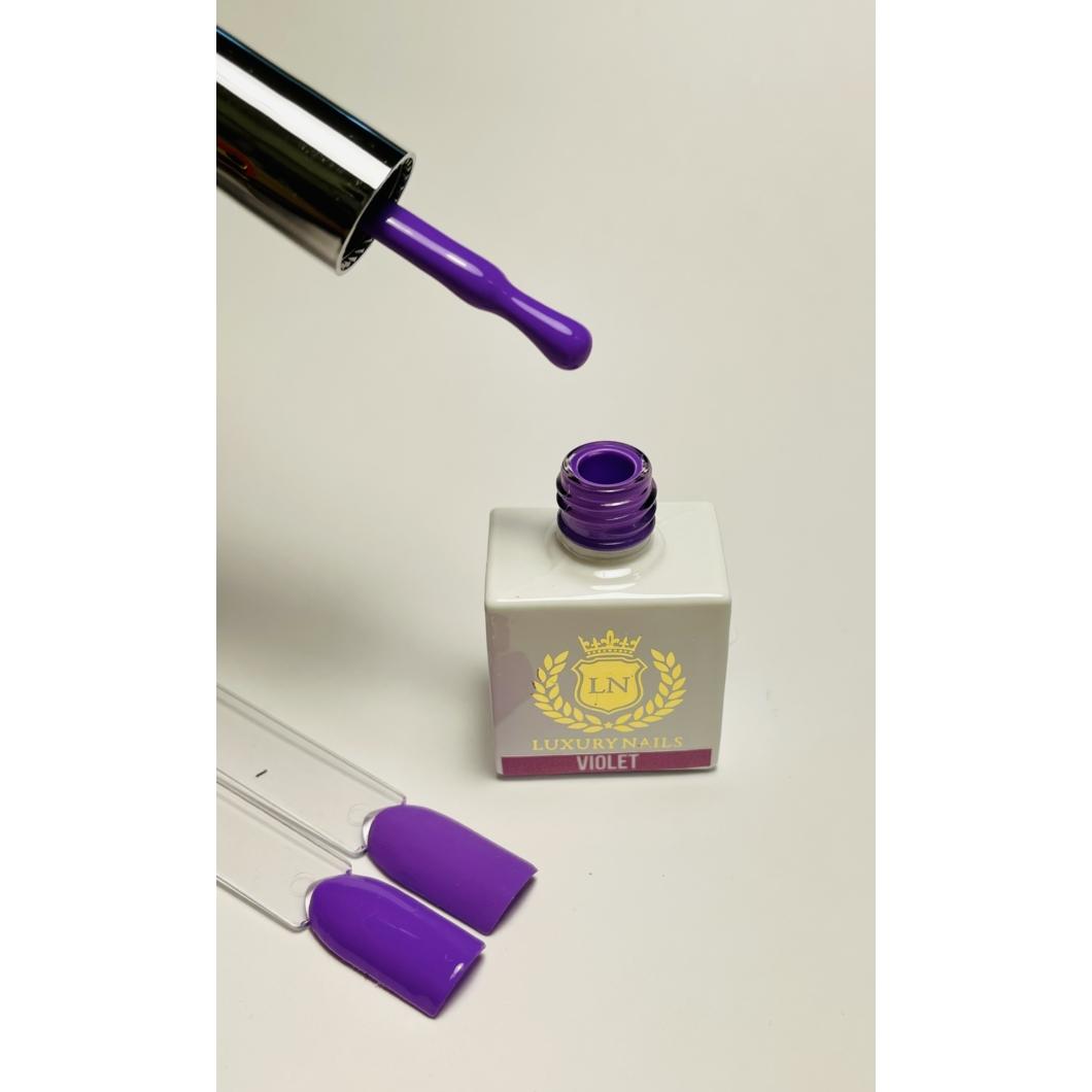 Luxury Gél Lakk 95  - Violet 8ml