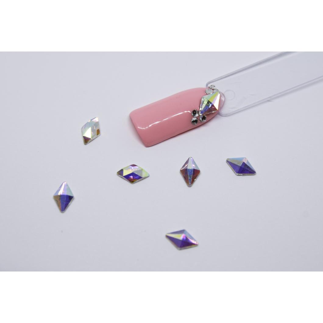 Luxury Multicolor díszítő kövek - deltoid kicsi