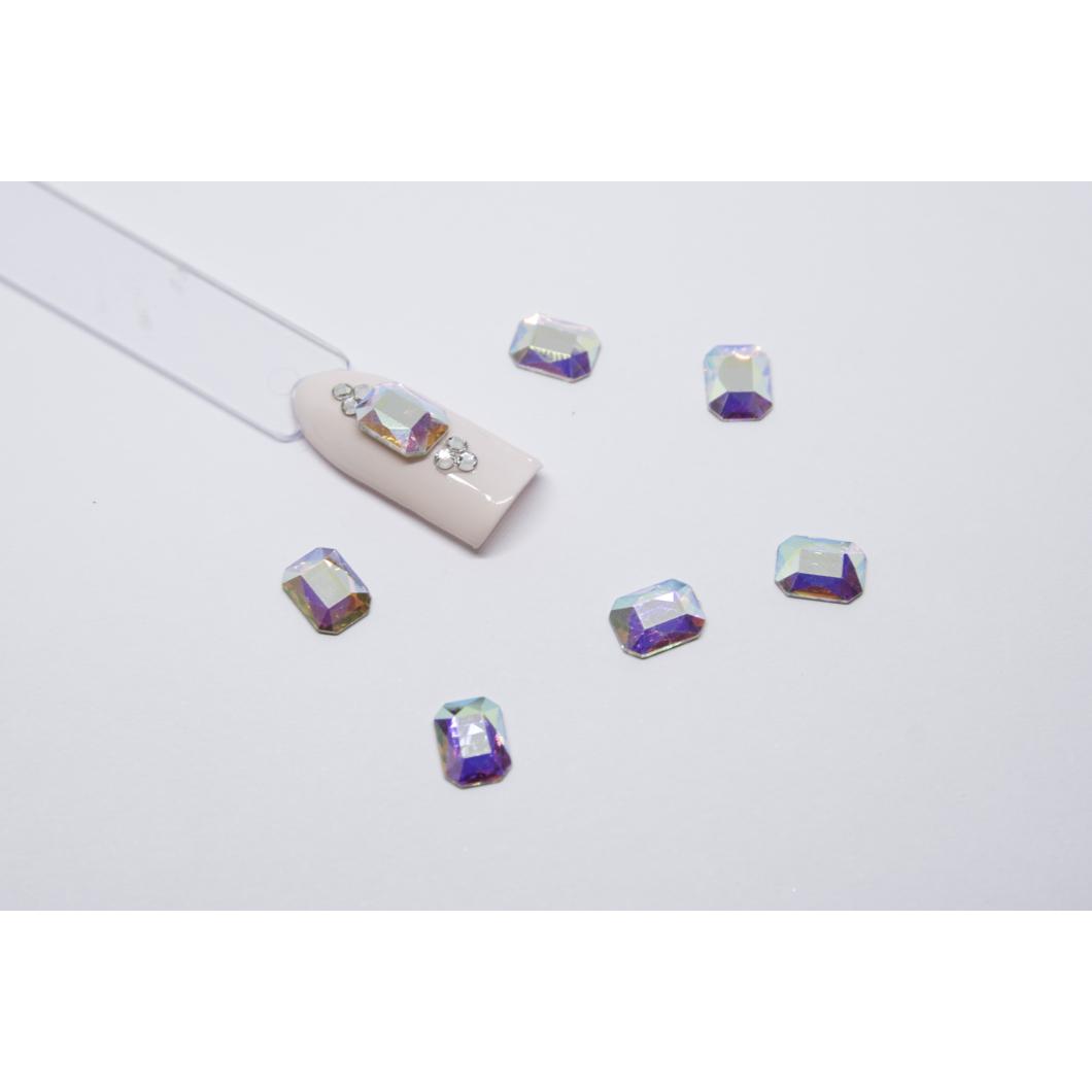 Luxury Multicolor díszítő kövek - négyzet