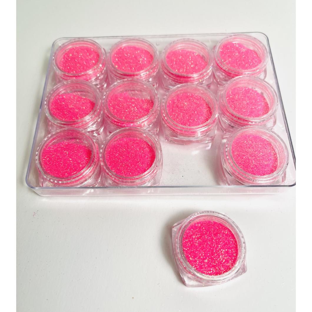 Csillámpor - pink