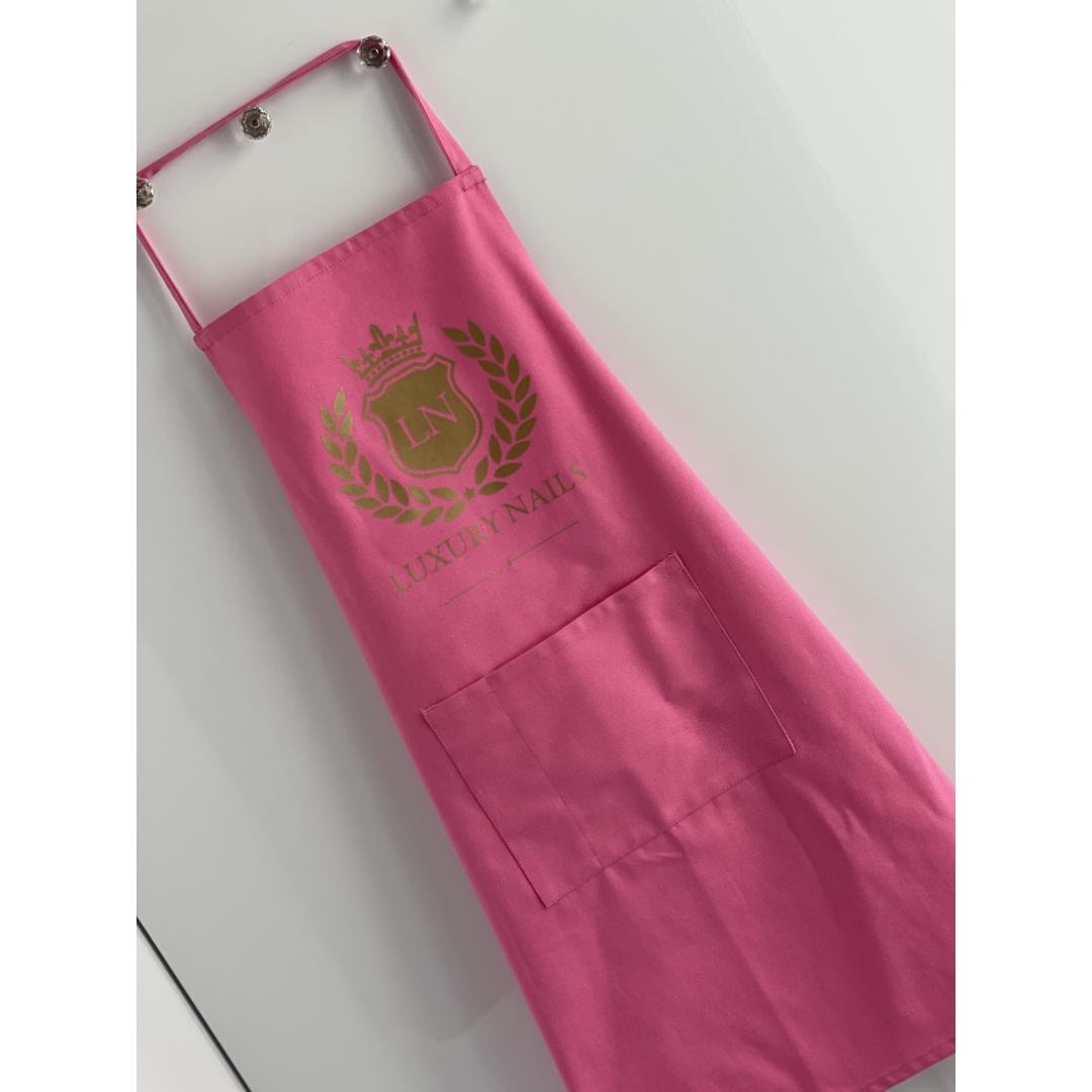 Luxury kötény - pink
